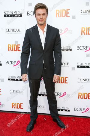 """Blake Cooper Griffin arrives at the LA Premiere of """"Ride"""" at The Arclight Hollywood Theater, in Los Angeles"""