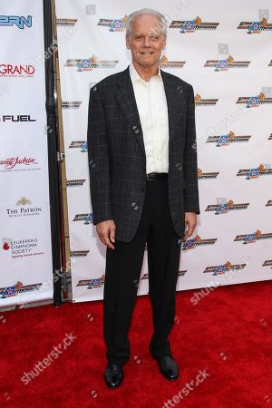 "Actor Fred Dryer arrives at the premiere of ""Snake and Mongoose"" at the Egyptian Theatre on in Los Angeles"