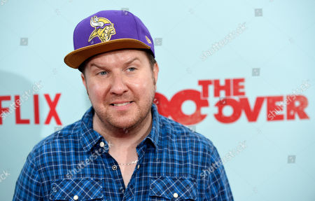 """Nick Swardson, a cast member in """"The Do-Over,"""" poses at the premiere of the film at the Regal LA Live theaters, in Los Angeles"""