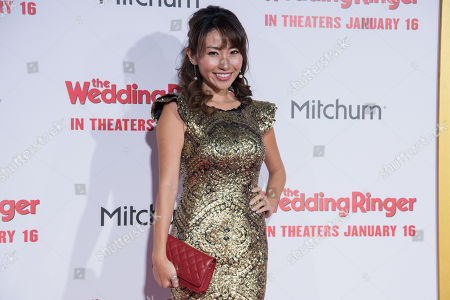 """Editorial photo of LA Premiere Of """"The Wedding Ringer"""", Los Angeles, USA - 6 Jan 2015"""