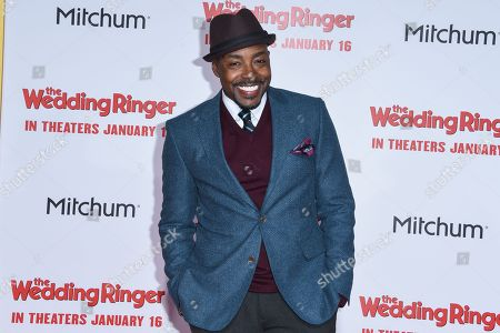William Packer arrives at the LA Premiere Of The Wedding Ringer at the TLC Chinese Theatre, in Los Angeles, CA