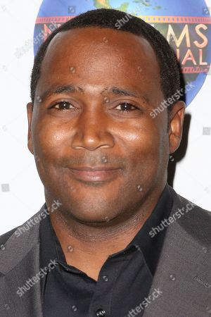 "Stock Picture of Darius Cottrell arrives at the LA Premiere of ""The Wine of Summer"" at The Fine Arts Beverly Hills, in Beverly Hills, Calif"