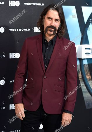 "Editorial photo of LA Premiere of ""Westworld"" - Arrivals, Los Angeles, USA - 28 Sep 2016"