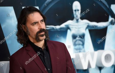 "Jeff Daniel Phillips arrives at the Los Angeles premiere of ""Westworld"" at the TCL Chinese Theatre on"