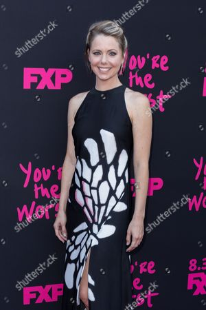 """Editorial photo of LA Premiere of """"You're the Worst"""" Season Three - Arrivals, Los Angeles, USA - 28 Aug 2016"""