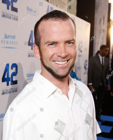 "Lucas Black arrives at the LA premiere of ""42"" at the TCL Chinese Theater on in Los Angeles"