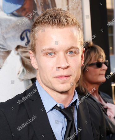 """Jesse Luken arrives at the LA premiere of """"42"""" at the TCL Chinese Theater on in Los Angeles"""