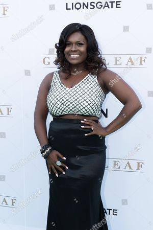 "Deborah Joy Winans arrives at the season one premiere of ""Greenleaf"" at The Lot, in West Hollywood, Calif"