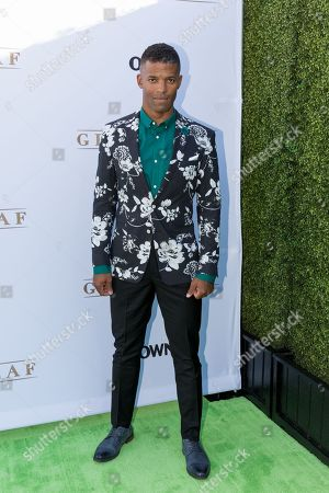 """Benjamin Patterson arrives at the season one premiere of """"Greenleaf"""" at The Lot, in West Hollywood, Calif"""