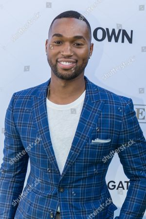 """Stock Photo of Tye White arrives at the season one premiere of """"Greenleaf"""" at The Lot, in West Hollywood, Calif"""
