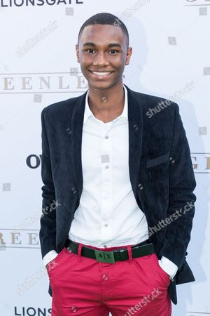 """Stock Photo of Zachary S. Williams arrives at the season one premiere of """"Greenleaf"""" at The Lot, in West Hollywood, Calif"""