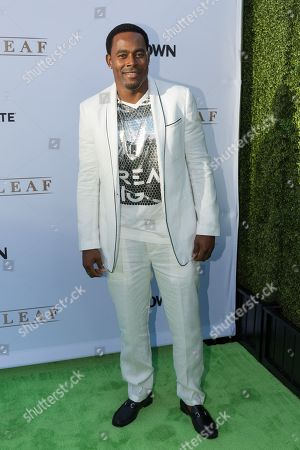 """Lamman Rucker arrives at the season one premiere of """"Greenleaf"""" at The Lot, in West Hollywood, Calif"""
