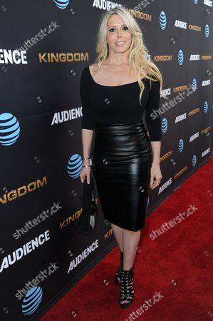 """Michelle Harris attends the LA Premiere of Season Two """"Kingdom"""" held at Harmony Gold, in Los Angeles"""