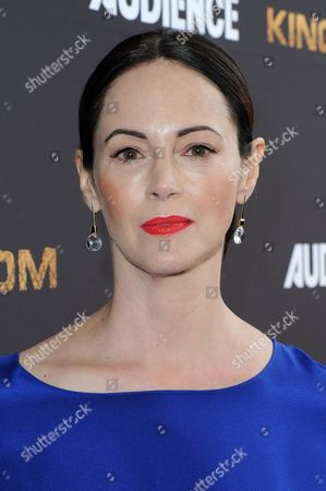 """Joanna Going attends the LA Premiere of Season Two """"Kingdom"""" held at Harmony Gold, in Los Angeles"""