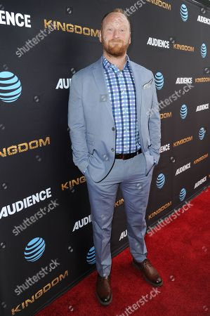 """Stock Picture of Mac Brandt attends the LA Premiere of Season Two """"Kingdom"""" held at Harmony Gold, in Los Angeles"""