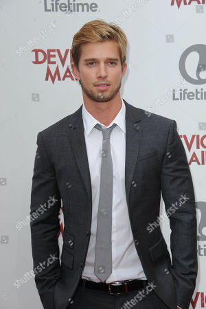"Drew Van Acker attends the premiere party for ""Devious Maids"" at the Bel-Air Bay Club on in Los Angeles"
