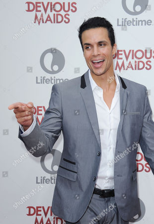 """Matt Cedeno attends the premiere party for """"Devious Maids"""" at the Bel-Air Bay Club on in Los Angeles"""