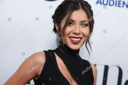 "Stock Image of Ashley Campuzano arrives at Latina Magazine's ""Hot List"" party, at the London Hotel in West Hollywood, Calif"