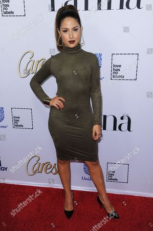 "Cinthya Carmona arrives at Latina Magazine's ""Hot List"" party, at the London Hotel in West Hollywood, Calif"