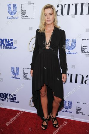 """Gemita Samarra arrives at Latina Magazine's """"Hot List"""" party, at the London Hotel in West Hollywood, Calif"""