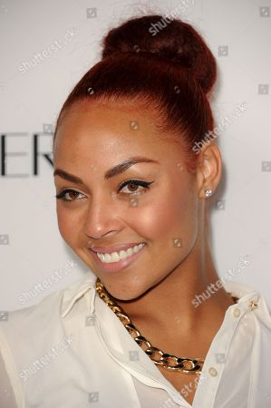 Stock Photo of Ashley Everett arrives at the Latina Magazine's Hot Hollywood List event at The Redbury Hotel on in Los Angeles