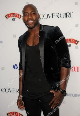 Khasan Brailsford arrives at the Latina Magazine's Hot Hollywood List event at The Redbury Hotel on in Los Angeles