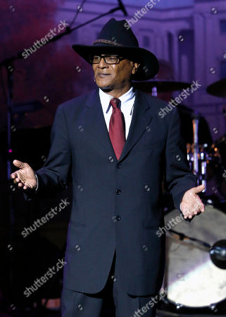 Billy Valentine plays Herman Cain at Les Girls 12 at Avalon, in Los Angeles