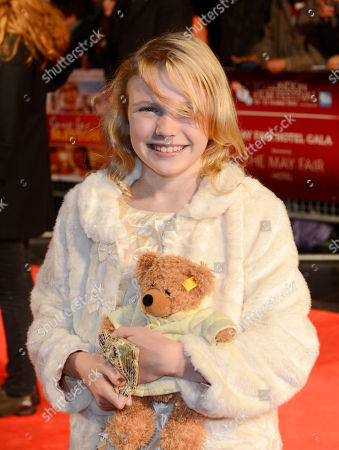 Orla Hill poses at London Film Festival The Mayfair Hotel Gala - Song for Marion at Odeon West End on in London