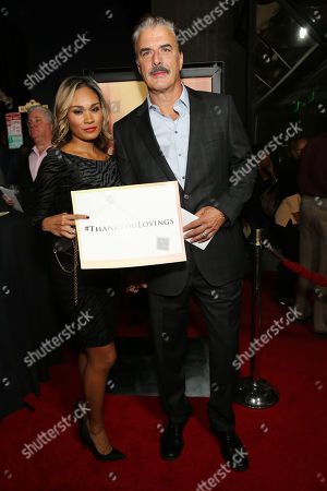 Stock Picture of Tara Wilson and Chris Noth seen at the Los Angeles Premiere of Focus Features' LOVING at the Samuel Goldwyn Theater, in Beverly Hills, Calif