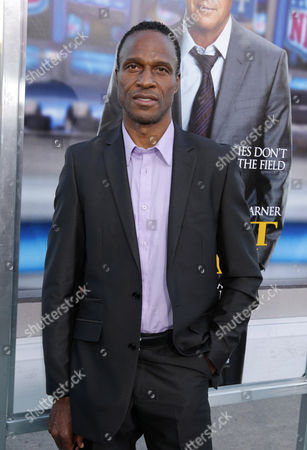 Willie Gault seen at Los Angeles Premiere of Summit Entertainment's 'Draft Day,' on in Westwood, CA
