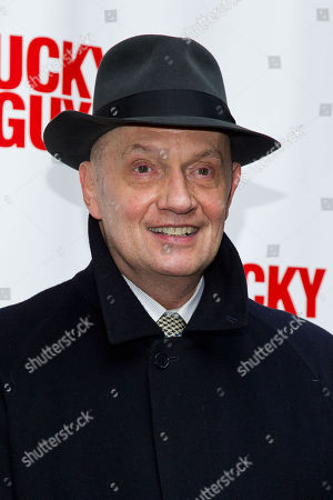 Stock Picture of Eddie Hayes arrives at the Lucky Guy Opening Night, on monday, April, 01, 2013 in New York, NY