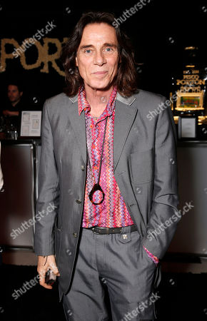 George Blodwell salutes legend of art and fashion Mario Testino at his Peruvian Natives' Exhibition Presented by Porton at Prism on in Los Angeles