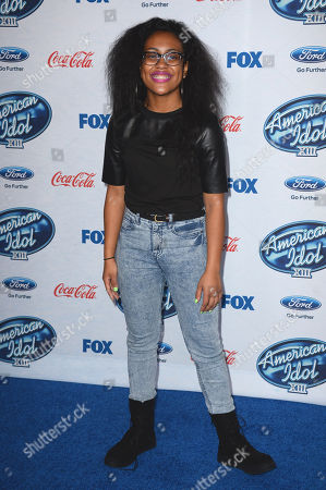 """Malaya Watson attends FOX's """"American Idol XIII"""" finalists party at Fig & Olive Melrose Place on in West Hollywood, Calif"""