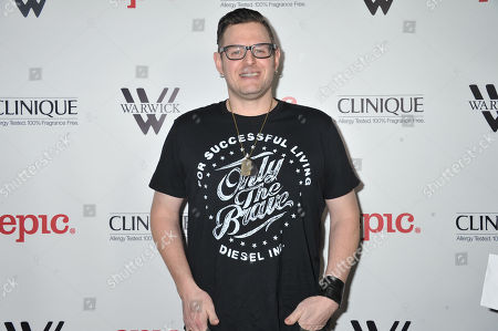 Kevin Kadish arrives at Meghan Trainor's Debut Album Release Party at The Warwick, in Los Angeles