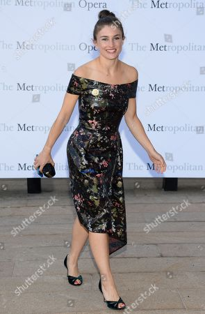 "Chloe Malle attends the Metropolitan Opera 2014-15 season opening production of Mozart's ""Marriage of Figaro"" at Lincoln Center, in New York"