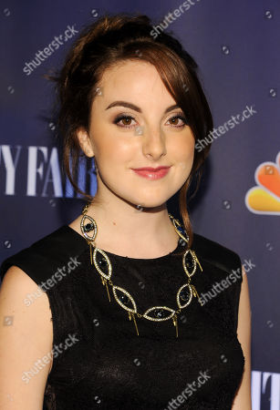 Actress Juliette Goglia attends the NBC 2013 Fall season launch party hosted by Vanity Fair at Le Bain on in New York