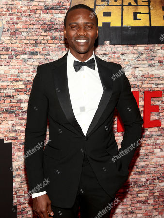"Jaiden Kaine attends the Netflix's original series premiere of Marvel's ""Luke Cage"" at the AMC Magic Johnson Harlem 9 Theater, in New York"