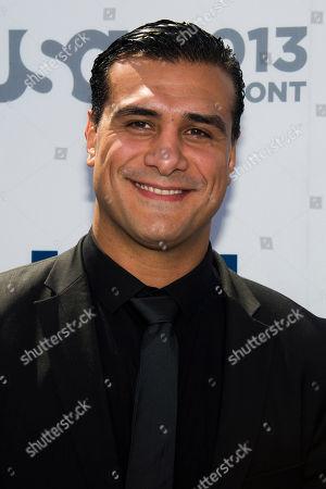 Stock Picture of Alberto Del Rio attends the USA Network Upfront on in New York