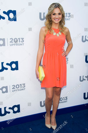 Karissa Lee Staples attends the USA Network Upfront on in New York