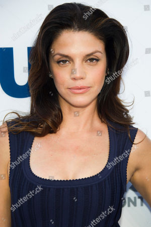 Stock Image of Vanessa Ferlito attends the USA Network Upfront on in New York