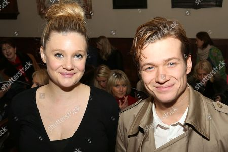 Stock Image of Romola Garai and Ed Speelers seen at the Nordoff Robbins Christmas Carol Service at St Luke's Church, in London