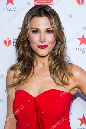Thea Andrews attends the Heart Truth Red Dress Collection fashion show on in New York