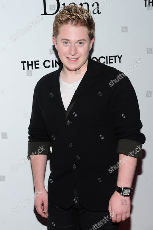 """Actor Reed Alexander attends the premiere of """"Diana"""" hosted by The Cinema Society, Linda Wells and Allure Magazine at the SVA Theater on in New York"""