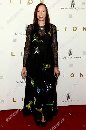 "Angie Fielder attends the premiere of ""Lion"" at the Museum of Modern Art, in New York"