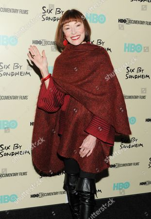 """Actress Karen Akers attends the premiere of HBO's """"Six By Sondheim"""" at the Museum of Modern Art, in New York"""