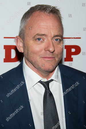 "Dennis Lehane attends ""The Drop"" premiere on in New York"
