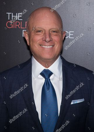 """Chris Albrecht attends the premiere of the Starz original limited series """"The Girlfriend Experience"""" at The Paris Theatre, in New York"""