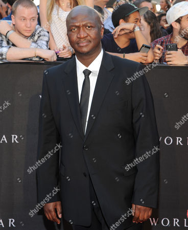 """Stock Photo of Actor Fana Mokoena attends the premiere of """"World War Z"""" in Times Square on in New York"""