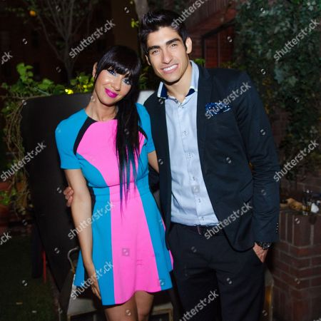 "Stock Image of Jackie Cruz and Francisco Escobar attend Netflix's ""Orange Is The New Black"" Season 2 premiere after-party at the Hudson hotel, in New York"