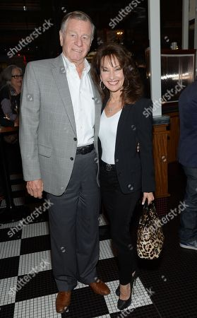 """Susan Lucci and husband Helmut Huber attend a special screening of """"Fury"""" pre-party at Kingside, in New York"""